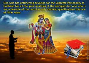 Srimad-Bhagavatam-on-Having-Unflinching-Devotion-for-The-Supreme-Personality-of-Godhead